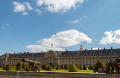 Army Museum at Les Invalides. Paris. Royalty Free Stock Photos