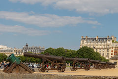 Army Museum at Les Invalides. Paris. Royalty Free Stock Photo
