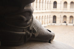 Army Museum Statue, Paris Royalty Free Stock Images