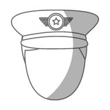 Army officer avatar character Royalty Free Stock Photos