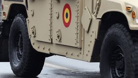 Army Offroad Vehicle stock footage