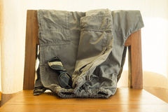 Army pants Royalty Free Stock Images