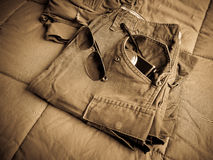 Army pants Stock Images
