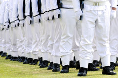 Army parade Stock Photography