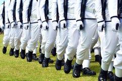 Army parade Stock Image