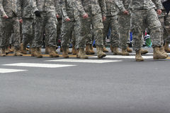Army Parade Royalty Free Stock Photography
