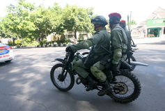 Army patrol Royalty Free Stock Photo
