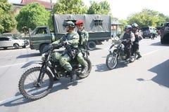 Army patrol Stock Photo