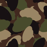 Army pattern of turd. Military camouflage texture Vector shit. Stock Images
