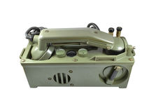 Army phone Stock Photography
