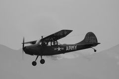 Army Plane Royalty Free Stock Image