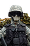 Army and police combat uniform-3 Stock Image