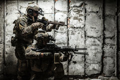 Army Ranger in field Uniforms Stock Photos