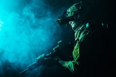 Army Ranger in field Uniforms Stock Images