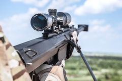 Army ranger sniper Royalty Free Stock Photography
