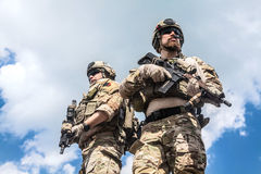 Army rangers Royalty Free Stock Photo