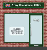 Army recruitment stock illustration
