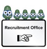 Army recruitment Stock Photos