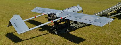 Army RQ-7 Shadow Drone Stock Images