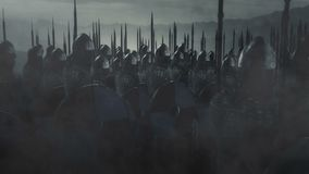 Army of Saxons Armed and Ready for War