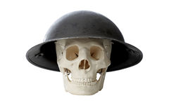 Army Skull Royalty Free Stock Image