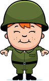 Army Soldier Boy Royalty Free Stock Photography