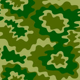 Army Soldier Camouflage Background Pattern. Vector Royalty Free Stock Photo