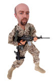 Army soldier doll Royalty Free Stock Photos