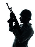 Army soldier man portrait Royalty Free Stock Image