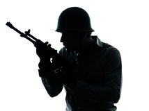 Army soldier man portrait Royalty Free Stock Photo