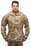 Army soldier standing Royalty Free Stock Photos