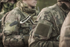 Army special forces Stock Image