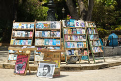 Army square. Books and posters market in army square, Havana. Cuba Royalty Free Stock Photo