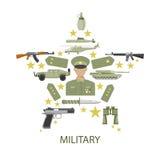 Army Star Composition Stock Photos