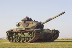 Army Tank. Army M60 Patton tank on display