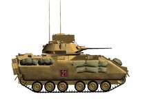 Army tank Stock Photo
