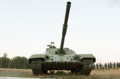 Army tank with a cannon Royalty Free Stock Photos
