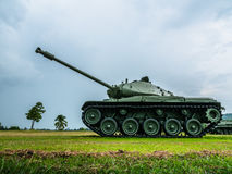 Army tank ground defense and attack. Powerful military tanks use for defense and attack Royalty Free Stock Photography