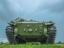 Army tank ground defense and attack Stock Photos