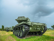 Army tank ground defense and attack. Powerful military tanks use for defense and attack Royalty Free Stock Images