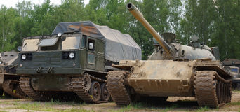 Army tank historic Royalty Free Stock Photography