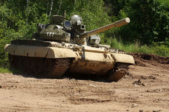 Army tank. Russian military theme Royalty Free Stock Photos