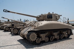 Army tanks. Royalty Free Stock Photography