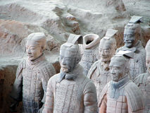 Army of Terracotta Warriors Stock Photos