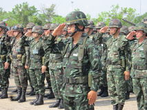 Army Thailand Royalty Free Stock Photography