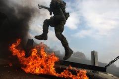 Army training Royalty Free Stock Image