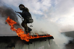 Army training Stock Images