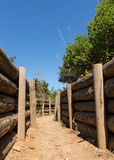 Army trenches at Anzac Cove Gallipoli Stock Photo