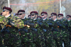 Army troops Stock Photo