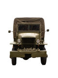 Army Truck. Military truck isolated on a white background Stock Images
